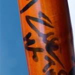 Hình ảnh chiếc điếu cày Bằng Kiều tặng Wanbi Tuấn Anh